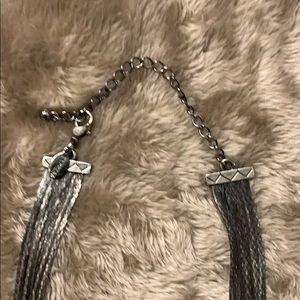 Jewelry - Black metal multi-strand necklace